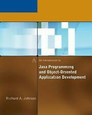An Introduction to Java Programming and Object-Oriented Application...