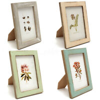 Warm Family Vintage Photo Frame Home Decoration Wooden Wedding Pictures Frames