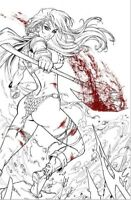 🚨🗡🔥 RED SONJA #19 DAWN MCTEIGUE Exclusive Virgin INKS Variant Ltd 500 NM