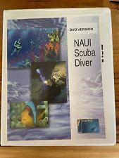 NAUI Scuba Diver Education Course with audio CD's video DVD Book & More