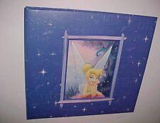 """Sandylion Tinkerbell Disney Purple Scrapbook Album 12.5"""" x 13.5"""" New"""