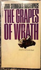 The Grapes of Wrath John Steinbeck 1961 Vintage Paperback Good
