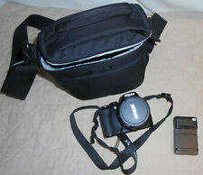 Nikon COOLPIX P90 12.1MP Digital Camera - Black + case + charger
