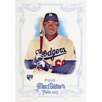 Yasiel Puig Unsigned 2013 Topps Allen and Ginter's Rookie Card