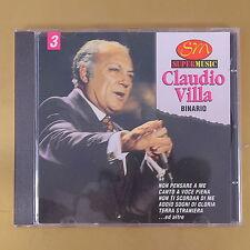 [AP-201] CD - CLAUDIO VILLA - BINARIO - 1997 DUCK - OTTIMO