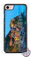 Greece Italy Manarola Design Image Phone Case Cover For iPhone Samsung Google LG