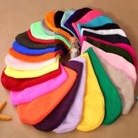Mens Ladies Ski Knitted Woolly Beanie Hat Slouch Oversized Winter Warm Skull Cap