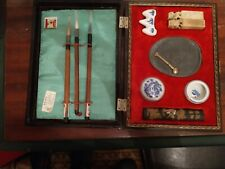 Sumi-e The Art of Japanese Brush Painting Kit w/ Brushes and Ink + Bottle