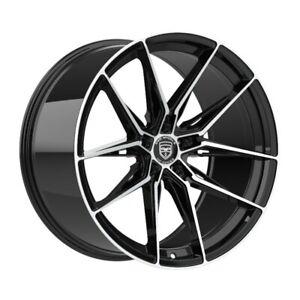4 HP1 18 inch Black Rims fits HONDA ACCORD COUPE V6 2008 - 2020