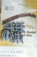 Precision Scale O #40125 Shoes and Hangers, Brake, (8 Plastic Parts)