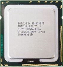 Intel Core i7-970 Processor 12M Cache 3.20 GHz LGA1366 130W 32nm CPU Processor