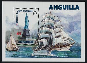 Anguilla 663 MNH Statue of Liberty, Sailing Ships