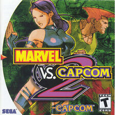 Marvel vs. Capcom 2 (Sega Dreamcast, 2000) - disc only!