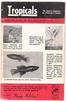 """[44669] 1962 """"TROPICALS"""" MAGAZINE JANUARY-FEBRUARY VOL. VI, No. 3"""