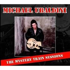 MICHAEL UBALDINI Mystery Train Sessions CD featuring BRIAN SETZER Rockabilly