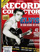 Record Collector #394 UK music collector fanzine ELVIS,Graceland+ Sonny West int