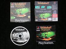JEU Sony PLAYSTATION PS1 PS2 : TRICKSHOT (billard COMPLET envoi suivi)