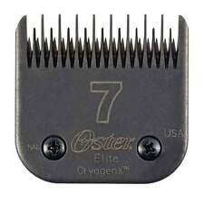 Oster Elite CryogenX AgION Sz 7 SKIP Dog Pet Grooming Clipper Blade MADE IN USA