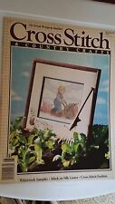 Cross Stitch & Country Crafts magazine, May/June 1990, 32 projects