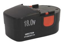 Sealey CPG18VBP Cordless Power Tool Battery 18V 1.7Ah Ni-Cd for CPG18V