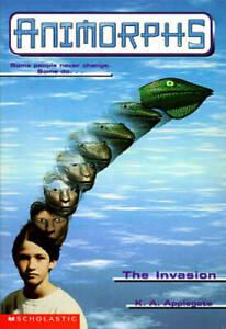 The Invasion (Animorphs #1) - Mass Market Paperback By Applegate, K.A. - GOOD