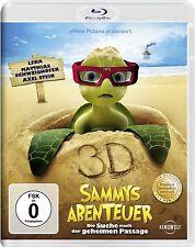 SAMMYS ABENTEUER: DIE SUCHE NACH DER GEHEIMEN PASSAGE (Blu-ray 3D) NEU+OVP