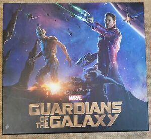 art of guardians of the galaxy book