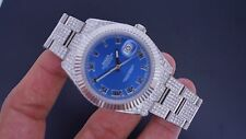 Rolex Date Just II 2 41mm Steel  Watch Flooded With 14 Carat Diamonds Best Price