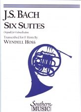 BACH CELLO SUITES (6) Hoss Horn/Trumpet