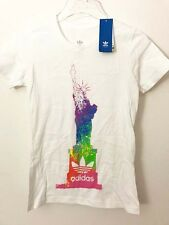 Adidas women's New York design top shirt S NWT