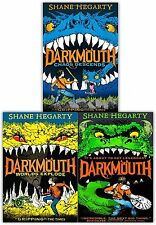 Darkmouth Volume 1-3 Collection 3 Books Set Shane Hegarty Chaos Descends, Worlds