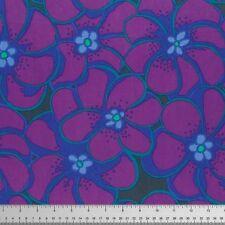 Fat Quarter Kaffe Fassett - Elephant Flower Purple - Cotton Quilting Fabrics