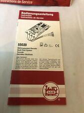 LGB 55020 DECODER INSTRUCTION MANUAL