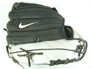 "Nike Kaos Max #1105 Baseball Glove Mitt RHT Youth Size 11.00"" Black / Silver"