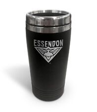 Essendon Bombers AFL TRAVEL Coffee Mug Cup Double Wall Stainless Steel Gift