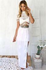 Polyester Summer/Beach Maxi Skirts for Women