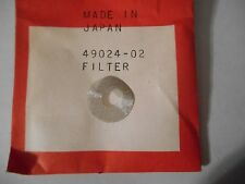 HOMELITE NEW GENERATOR FILTER    UT-04005    P/N 49024-02