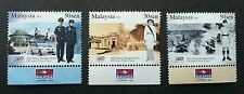 200 Years Police Force Malaysia 2007 Uniform Car Army (stamp with logo) MNH
