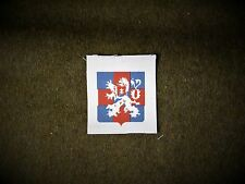 1st Czechoslovak Armoured Brigade reproduction printed WWII for Battledress