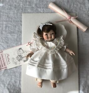 "Pauline's Limited Edition Doll Sasha 554 of 2000 Bisque 8"" Tall w/Box"