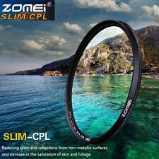 ZOMEI 67mm Ultra Slim CPL Filter Circular Polarizing Filter 67 Thread Lens
