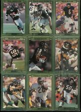 1989 ACTION PACKED TEST FOOTBALL COMPLETE SET 1-30