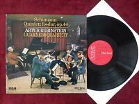 Q136 Schuhmann Quintet es-Dur Guarneri-Quartett Rubinstein RCA LSC 3047-B Stereo