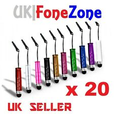 20x Mini stylus touch pen for iPhone Samsung Sony Htc LG phones ipad tablets