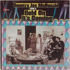 COUNTRY JOE McDONALD: Hold On It's Coming USA Vanguard '70 LP VG++ Peter Green
