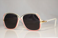 CAZAL 1990 Vintage Mens Womens Designer Sunglasses White Square 130 OOX 15998