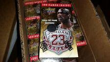 2009-10 UD MICHAEL JORDAN HALL OF FAME GOLD LEGACY BASKETBALL CARD SET POS AUTO