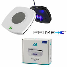 AI PRIME 16HD LED LIGHT MARINE REEF FULL SPECTRUM AQUARIUM LIGHTS WHITE / BLACK