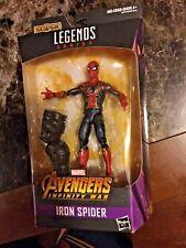 MARVEL LEGENDS IRON SPIDER FIGUFE MOC AVENGERS INFINITY WAR FIGURE Spider-Man