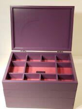 Cynthia Rowley Stackable 3 piece Jewelry Tray/Box